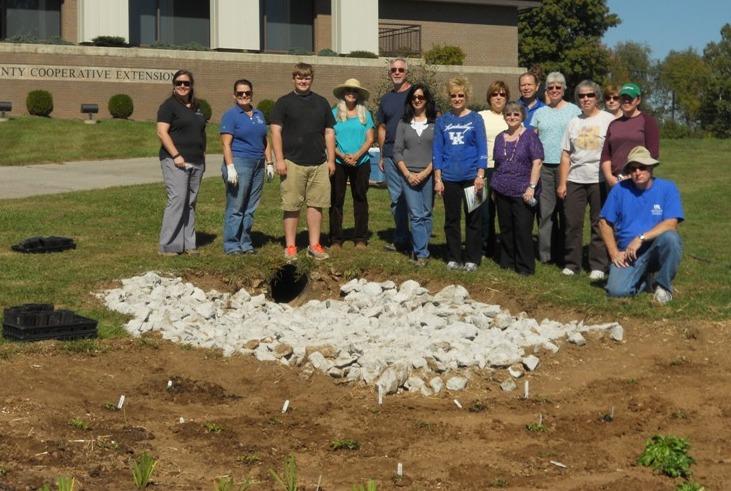Rain Garden Project: Bluegrass PRIDE